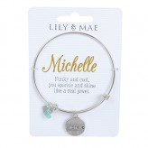 Michelle - Personalised Bangle