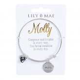 Molly - Personalised Bangle