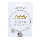 Natalie - Personalised Bangle