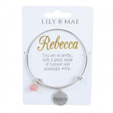Rebecca - Personalised Bangle