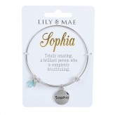 Sophia - Personalised Bangle