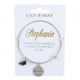 Stephanie - Personalised Bangle