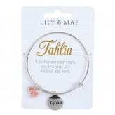 Tahlia - Personalised Bangle