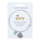 Zara - Personalised Bangle