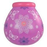 Purple Mandala -  Pot of Dreams