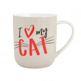 I Heart My Cat - Paw Palz Mug