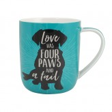 Love Has Four Paws - Paw Palz Mug
