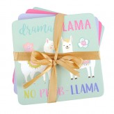 Llama - S/4 Coasters