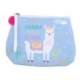 Llama - Blue Purse