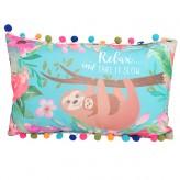 Sloth - Cushion With Pom Pom